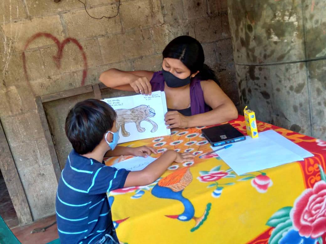 visita niños comunidades